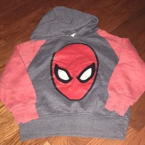 Shirts & Tops - Spider-Man Pullover Hoodie